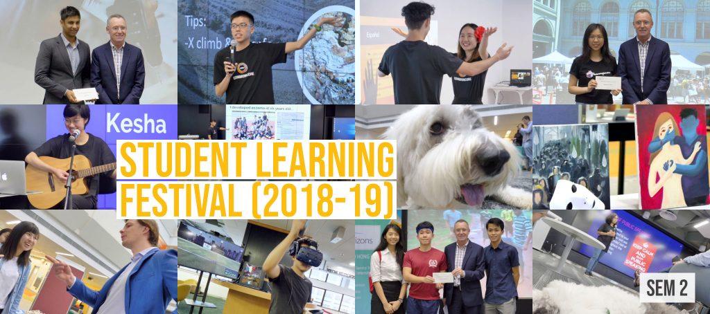Student Learning Festival 2018-19 (Sem 2)