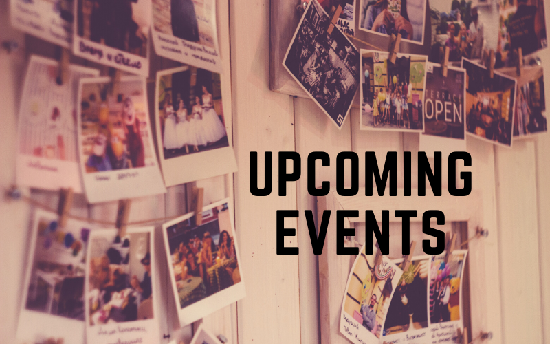 Passion Project Upcoming Events