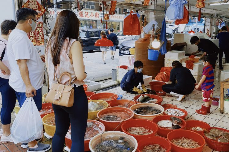 Can we still shop for seafood in the future? by Li Chuqi